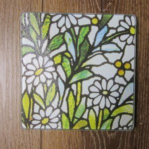 NWT - Daisy 'Stained Glass Trivet